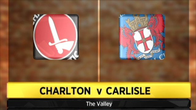 Charlton 1-3 Carlisle