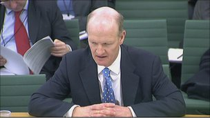 David Willetts giving evidence
