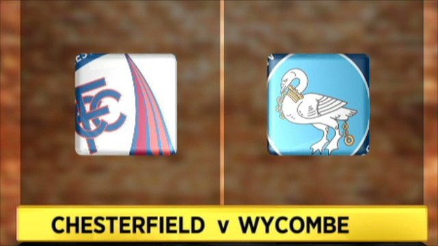 Chesterfield 4-1 Wycombe