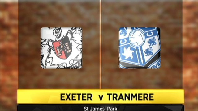 Highlights - Exeter 1-1 Tranmere