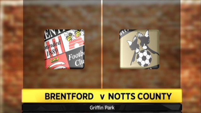 Highlights - Brentford 1-1 Notts County (UK only)