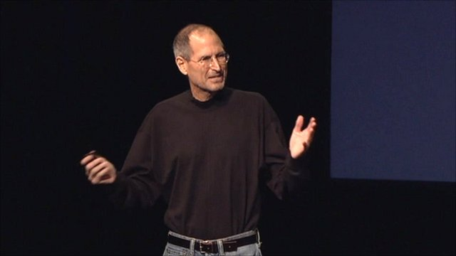Apple chief executive Steve Jobs launches the iPad 2 in San Francisco
