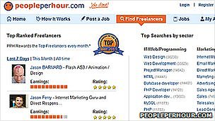 Peopleperhour.com screenshot