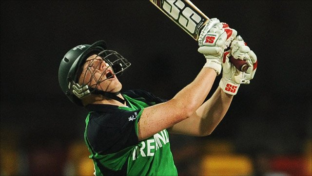 Ireland's Kevin O'Brien