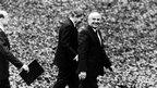 Former US President Ronald Reagan and Mikhail Gorbachev in 1987 - photo Dmitry Baltermanz