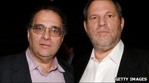 Bob and Harvey Weinstein