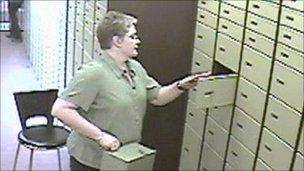 Jackie Swann at work