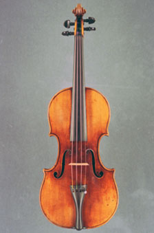 An image of the stolen Stradivarius