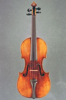 An image of the stolen Stradivarius