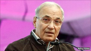 File picture of Ahmed Shafiq on 20 January 2011 