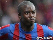 Crystal Palace winger Kieron Cadogan
