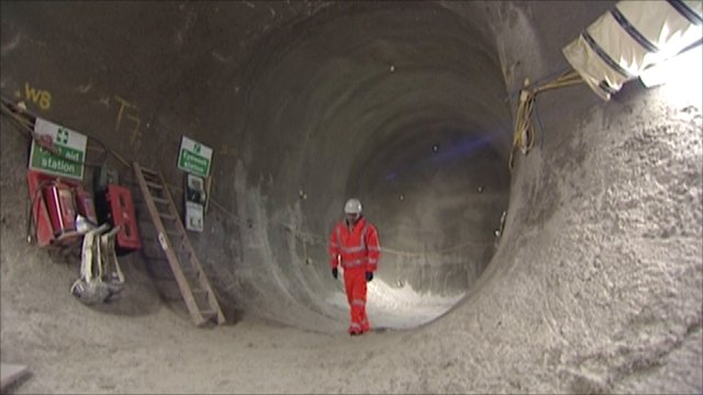 The new station at Tottenham Court Road will be used by an estimated 250,000 travellers per day