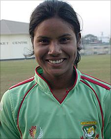 Promising cricketer Sara Marandi