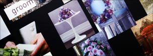 Wedding planners mood board (detail)