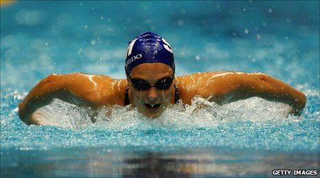 Bbc Sport Swimming Keri Anne Payne Looking Forward To Pool Competition