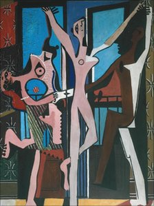 The Three Dancers by Pablo Picasso