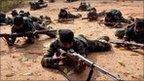 Maoist rebels in Jharkhand in 2010