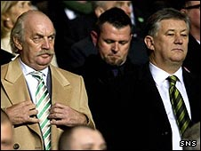 Dermot Desmond and Peter Lawwell
