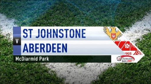 Highlights - St Johnstone 0-0 Aberdeen