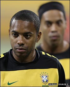 Robinho and Ronaldhino
