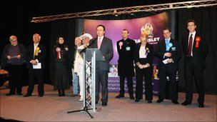 Candidates await the result in Barnsley