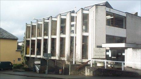 Brecon library