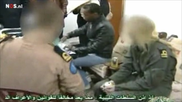 Dutch marine being held by Libyan authorities