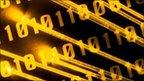 Binary codes and fibre optic strands