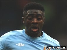 Manchester City defender Kolo Toure
