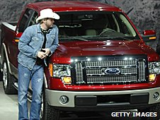 Country music singer Toby Keith and the Ford F150