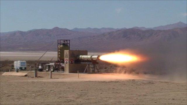 Rocket test