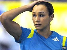 Jessica Ennis is missing in Paris because of injury