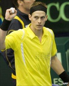 Sweden's Joachim Johansson