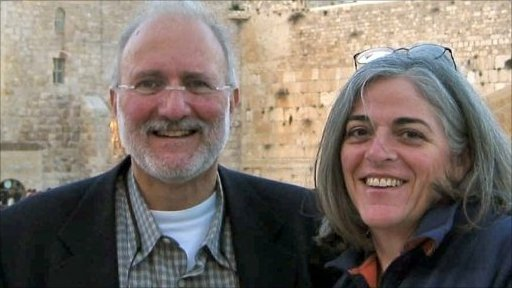 alan gross pictured with his wife