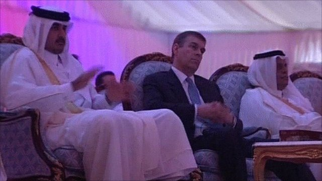 Duke of York visits Qatar
