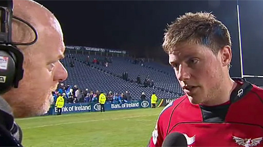 Rhys Priestland talks to Scrum V
