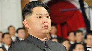 Kim Jong-un attends a Lantern Festival concert in Pyongyang, North Korea, Feb 2011