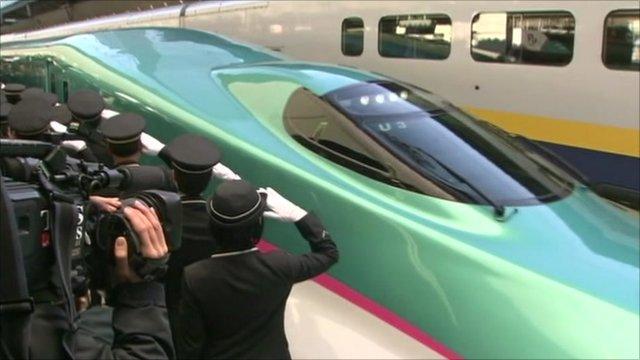 Japan's new bullet train