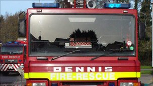 Devon fire engines