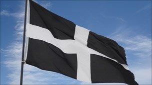 St Piran's flag