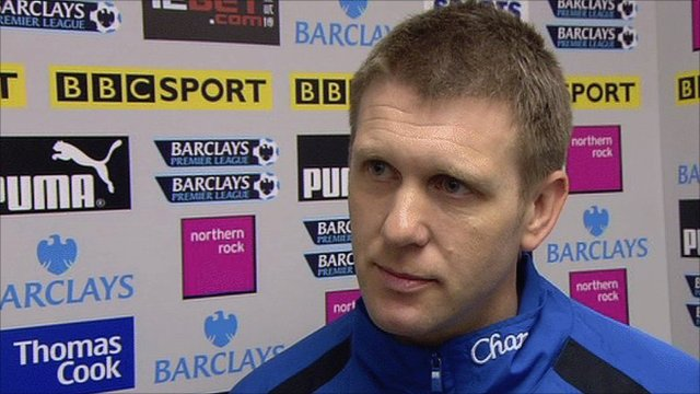 Everton assistant manager Steve Round