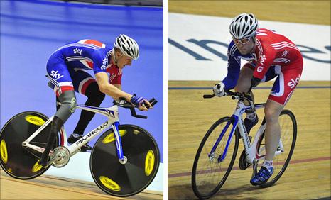 Paralympic hopefuls Tel Byrne and Jon-Allen Butterworth