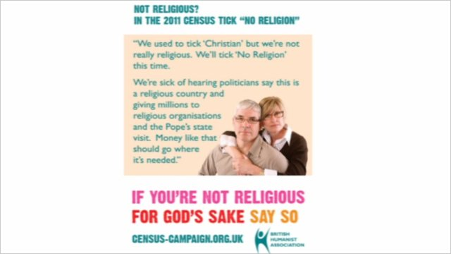 The British Humanist Association's poster