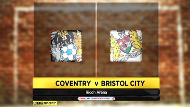 Coventry 1 - 4 Bristol City