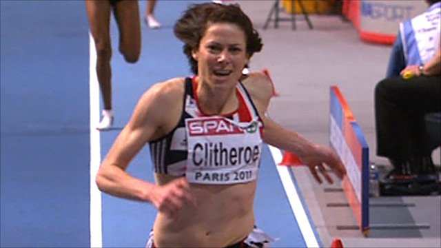 Great Britain&amp;apos;s Helen Clitheroe