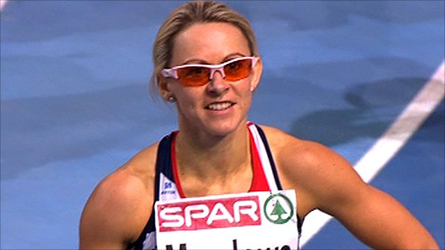 Great Britain&#039;s Jenny Meadows