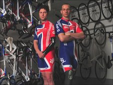 Paralympic hopefuls Jon-Allen Butterworth and Tel Byrne