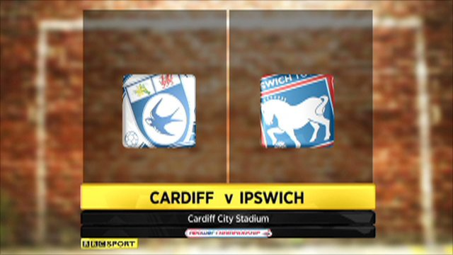 Cardiff 0-2 Ipswich