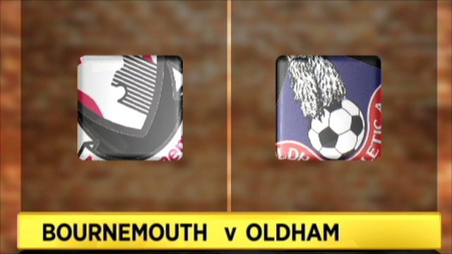 Bournemouth 3-0 Oldham