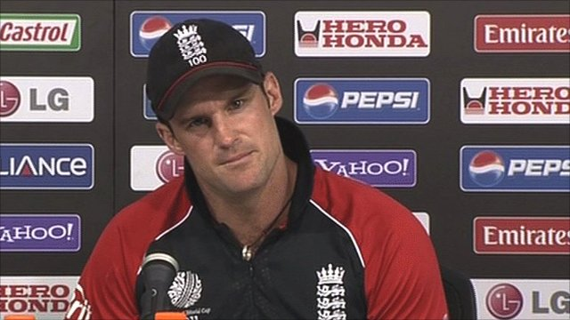 England captain Andrew Strauss